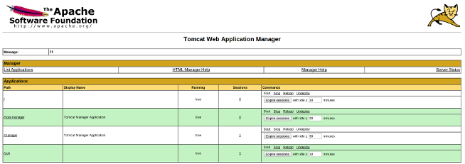 webapp manager