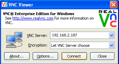 An example of an old VNC