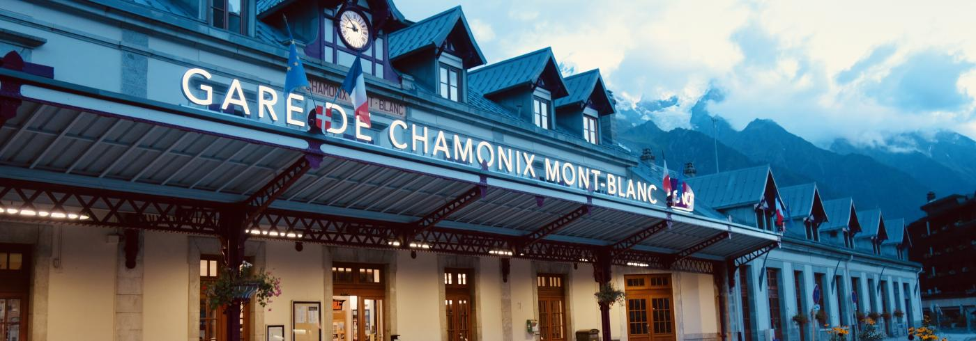 A photo I took of Gare de Chamonix Mont-Blanc